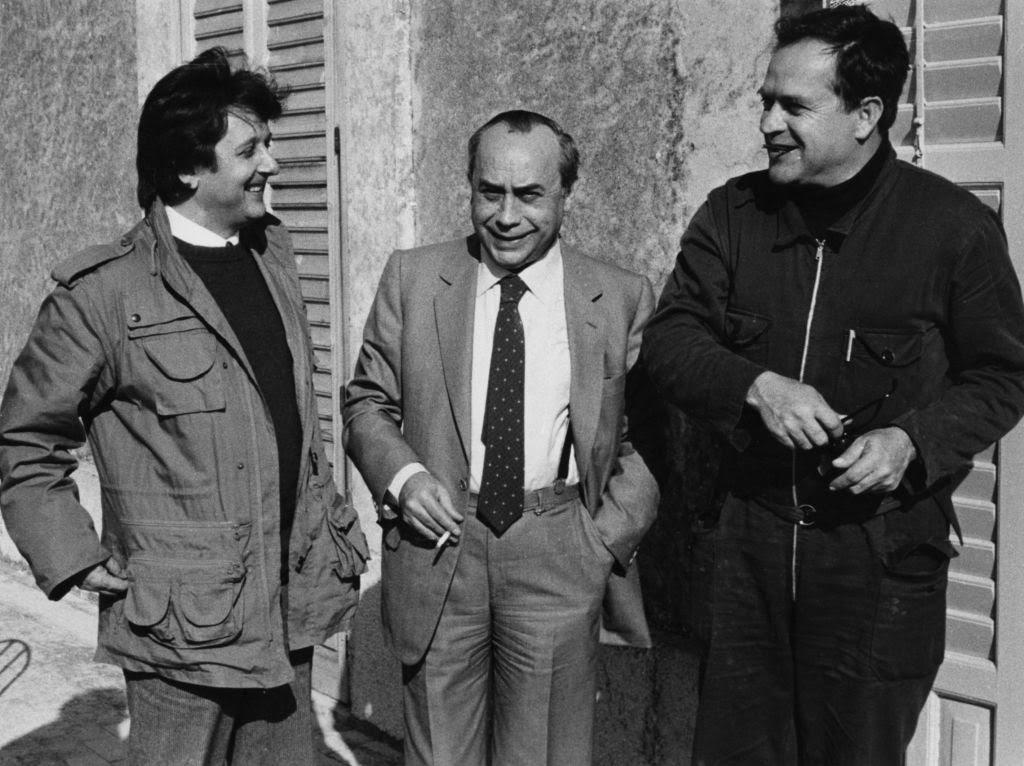 Giuseppe Leone Leonardo Sciascia Piero Guccione 1982